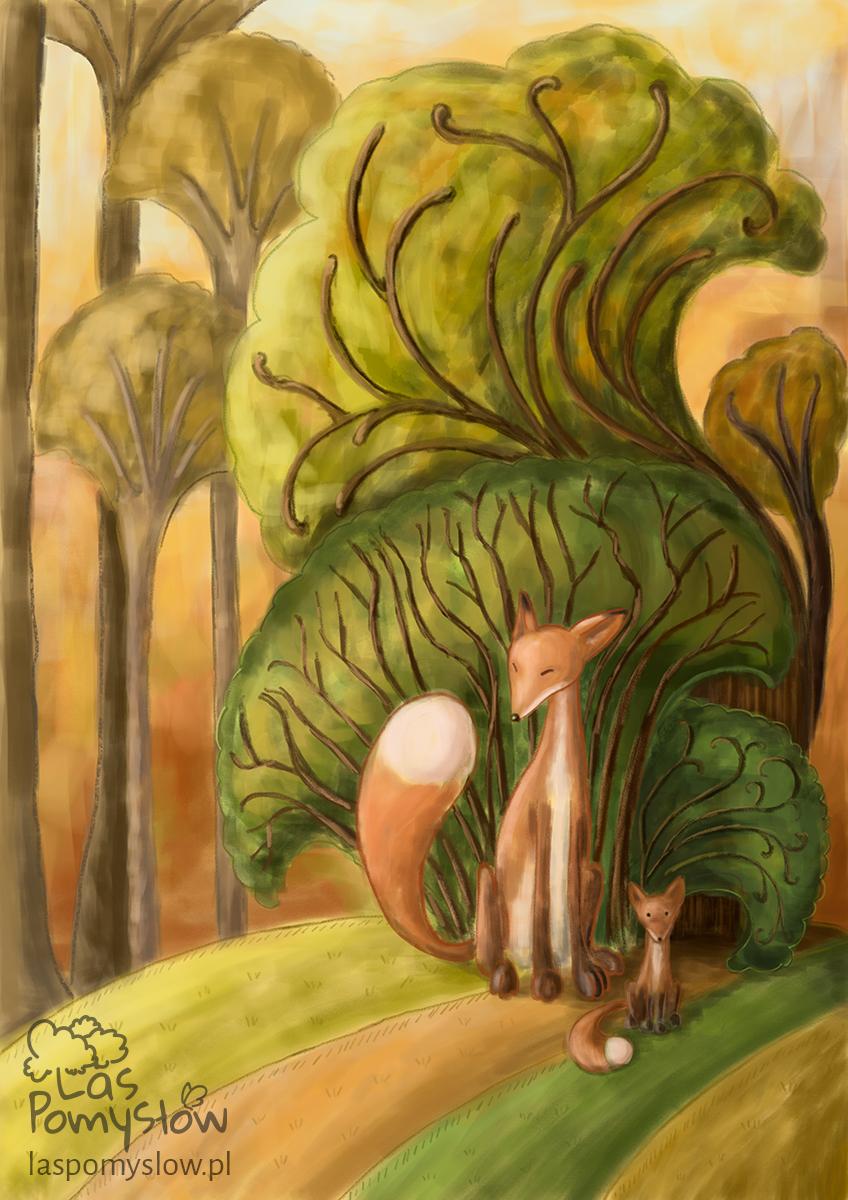 Liski i ich zaczarowany las