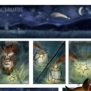 komiks liski i gwiazdy