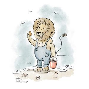 Lew poszukiwacz bursztynu