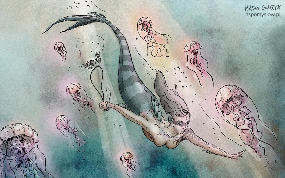 Syrena i meduzy
